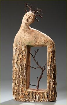 Artist & sculptor Roelna Louw was raised in South Africa where she wrote and directed award winning childrens' TV programs. During the 1990's she relocated to USA, bought some clay and began telling stories in three dimensions...