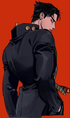 "Artwork by 🐇ars🐇 on Twitter: ""눈매더러운 타롱롱..… "" Jojo's Bizarre Adventure Anime, Jojo Bizzare Adventure, Otaku Anime, Anime Guys, Joestar Jotaro, Jojo's Adventure, Comic Manga, Arte Cyberpunk, Jojo Parts"