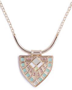 Mint Glint Necklace by JewelMint.com, $29.99