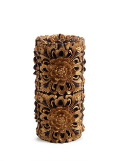 Dedritic Medium Pillar Candle