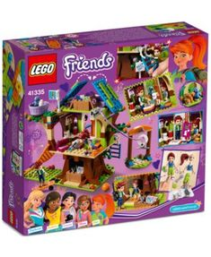 Prepare an exciting night in for Mia's friends with ghost stories by torchlight, board games and pizza, then discover Daniel's box of belongings in the attic with this LEGO Friends Mia's Tree House Set Toys For Girls, Gifts For Girls, Kids Toys, Lego Girls, Shop Lego, Buy Lego, Toys Uk, Lego Toys, Lego Friends Sets