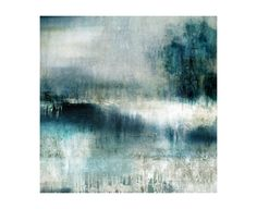 "Leftbank Art. 52GCJH0154 Option over couch or dining room? 47"" sq. Teal meadows"