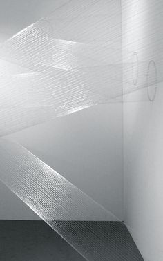 Lygia Pape | Ttéia 1, B (prata-lunar), 2000/12