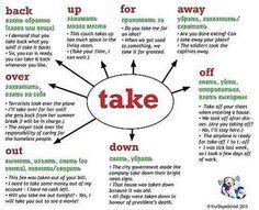 English - take