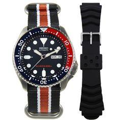 SALE authentic Seiko Automatic Prospex Divers Watch at cheapest price. Fast shipping to USA New Zealand UK Switzerland Canada Australia Japan. High End Watches, Fine Watches, Sport Watches, Watches For Men, Seiko Automatic Watches, Seiko Watches, Seiko Skx009, Seiko Diver, Authentic Watches