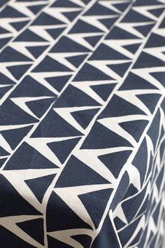 At-An-Angle Tablecloth by clock & brayer