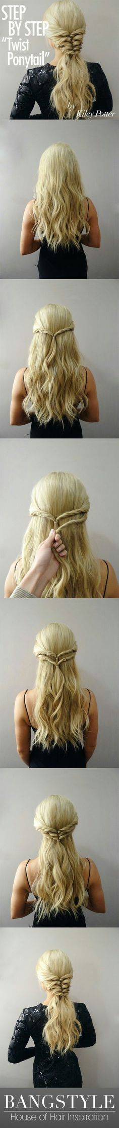 Simple Braided Hairstyles For Prom : Easy updos for long hair 2017 pinterest