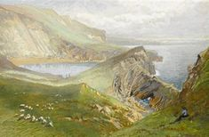 Lulworth Cove, Dorset , 1879 - William Trost Richards