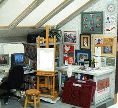57 Best Dollhouse Art Studio Images Miniature Rooms Dollhouses