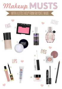 Makeup Must Haves –