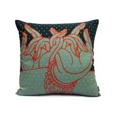 HASTAMUDRA CUSHION COVER  Buy Here - http://madinindia.in/collections/cushion-covers/products/hastamudra-cushion-cover MRP - Rs 950