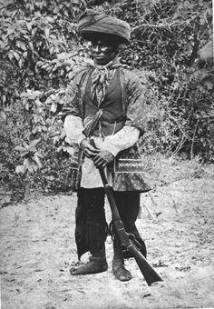 Miccosukee Indian Doctor Tiger - Miami, Florida, ca 1890
