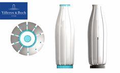 """Porzellan Lamp"" designed by Sven Dogs for Villeroy & Boch ""porzellan lamp"" designer: Sven Dogs, www.svendogs.com manufacturer: Villeroy & Boch result: Design study, concept design Year:2012 Villeroy, Lamp Design, Designer, Water Bottle, Dogs, Concept, Light Bulb Drawing, Pet Dogs, Doggies"