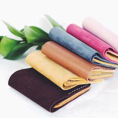 Handmade wallet Leather purse Card holders wallet Coin pocket wallet Colorful wallet Leather card wallet for women Yellow wallet