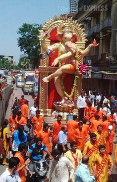 Matunga Cha raja 2015 visarjan procession