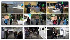 """Dia Mundial da Fotografia com o IPF, no Pavilhão do Conhecimento - Centro Ciência Viva. Camera obscura e visita guiada à exposição """"Cidadão do Cosmos"""", de Miguel Claro."""