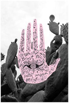 Trust the path unseen. Original acrylic and ink artwork by Rachel Urquhart (Pony Gold) Blackwork, Whatsapp Wallpaper, Doodles, Surfer, Iphone Background Wallpaper, Hand Art, Aesthetic Wallpapers, Art Inspo, Just In Case