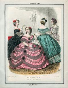 In the Swan's Shadow: Le Bon Ton, November 1860.