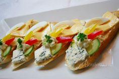 Chlebíčky, kanapky a chuťovky z mojej kuchyne... • článok • bonvivani.sk