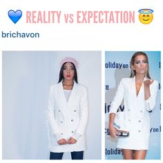 What happens when you order a WWW.AWESOMEWORLD.CO.UK dress! #exact match   Thanks to our customer @brichavon for the beautiful outfit  you can use a blazer dress in so many ways   Shop @awesomeworld.co.uk link in bio