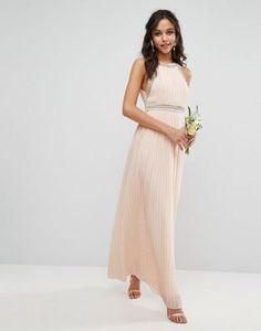 TFNC | TFNC WEDDING Embellished Neck Maxi Dress