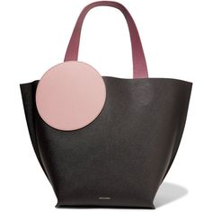 Roksanda Eider color-block textured-leather tote (¥105,145) ❤ liked on Polyvore featuring bags, handbags, tote bags, purses, black, tote bag purse, purse tote, hand bags, laptop handbags and purse tote bag