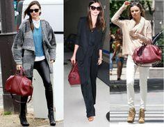 Vogue Quest : Burgundy bag