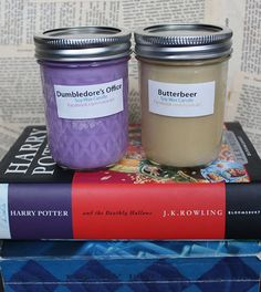 Harry Potter Candles - Dumbledore's Office & Butterbeer