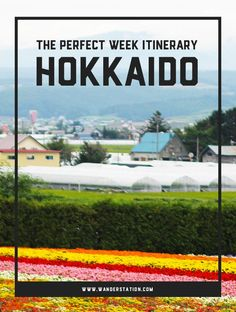 The Perfect Week Itinerary: Hokkaido