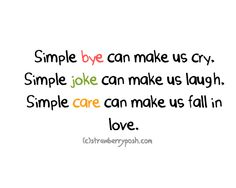 plain and simple. All Quotes, Great Quotes, Inspirational Quotes, We Fall In Love, I Am Bad, Favorite Quotes, Favorite Things, Funny Signs, Inspire Me