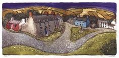 Chris Neale Studio - signed limited edition art prints and original artwork Devon, Bristol, House Art, Naive Art, Print Artist, Limited Edition Prints, Landscape Art, Art Images, Original Artwork