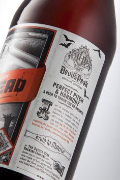Devil's-Peak beer label