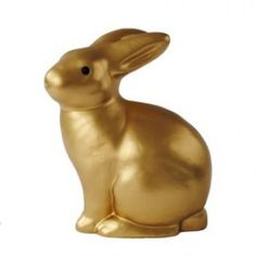 Lamp konijn goud