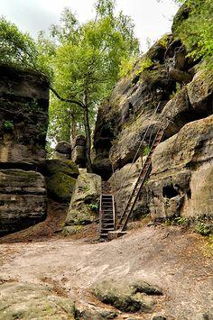 Sandsteinlabyrinth - Entdecke Sachsen