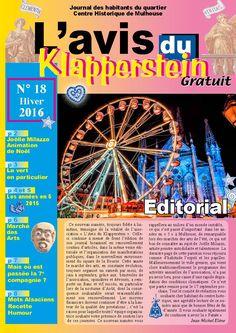 Mulhouse : L'Avis du Klapperstein N°18 hiver 2016