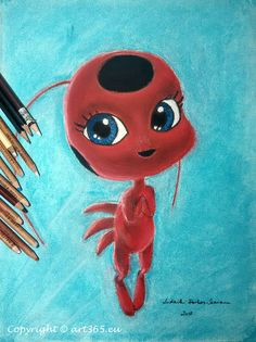 Tikki from Miraculous - Art365