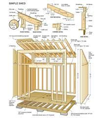 Shed Plans Building Easier With Free Wood Sheds Storage The Family Handyman