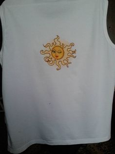 T-shirt with sun free embroidery design - Free embroidery designs - Gallery - Machine embroidery forum