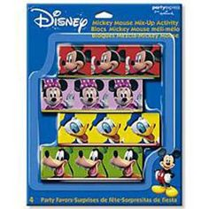 Mickey Mouse Clubhouse Mix-Up Blocks Party Favor - 4 Per Pack$3.79
