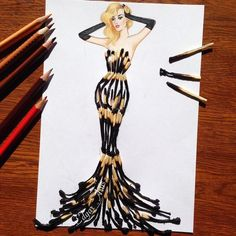 Волшебные платья художника Edgar Artis платье, оригинально, Искусство, длиннопост