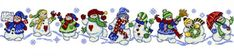 Snowman Row - Got to order this one, for sure.  Maybe I'll have time to do this project for next Christmas...