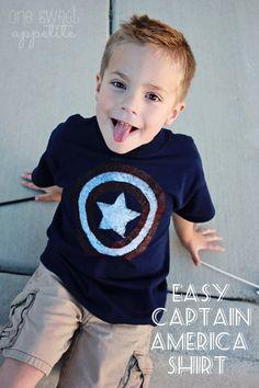 Easy Captain America Shirt