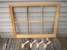 How To Make A Fireplace Screen Using a Window Sash