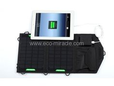 Model number : EM-707F Solar bag dimension of bag: 480*230*3mm , Foldable size : 230*160*20mm Bag Materials: 600D  , Style :Portable Wallet-style Solar Panel: 7watt  , Solar panel conversion efficiency: > 17% Life-span of solar battery: Above 10 years    voltage controller Dual output port   ,  Materials: ABS + PS Output 1: DC 9V , Output 2: 5V 1400mA(max) This product have dual output port , USB port for all mobile phone , DC port for all 9V devices.   Need more details ? Call me soon Solar Charger, Solar Battery, Solar Products, Solar Led Lights, All Mobile Phones, Solar Panels, Flashlight, 10 Years, Electronics