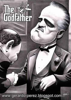 "The Godfather - Ha ha I love this. ""Be my friend"" - Amerigo Bonasera #GangsterMovie #GangsterFlick"