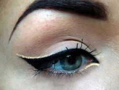 Looking for a beauty hack to enhance your peepers? How about 30. Whether you need an understated daytime look, or you're looking to wow at your next party, we've rounded up a generous handful of eyeliner tips and tricks. So line your lids with your desired color, prep your brows, and round out the look with flawless foundation. You'll be turning heads all day and night.