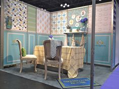 Simplicity and branding | Surtex Booth via  Lady sippington