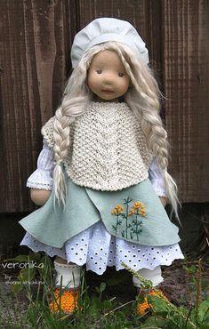 Sewing Doll Clothes, Sewing Dolls, Rag Doll Tutorial, Baby Boutique Clothing, Doll Wardrobe, Bear Doll, Doll Maker, Waldorf Dolls, Diy Doll