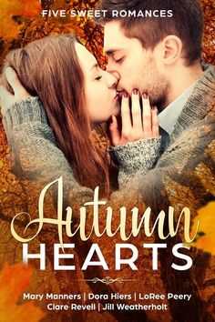Mary Manners, Dora Hiers, Jill Weatherholt, Clare Revell, LoRee Peery - Autumn Hearts: Five Sweet Romances / #awordfromJoJo #Fall #Fallreads #Autumn #AutumnRomance #Contemporary Dream Quest, Inspirational Blogs, Duke University, High School Sweethearts, Therapy Dogs, Kissing Him, Happy Endings, Losing Her, Romance Books