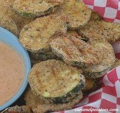 Oven Fried Zuccini